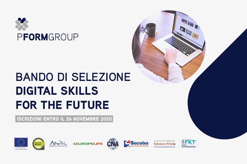 Bando di selezione Digital Skills for the future