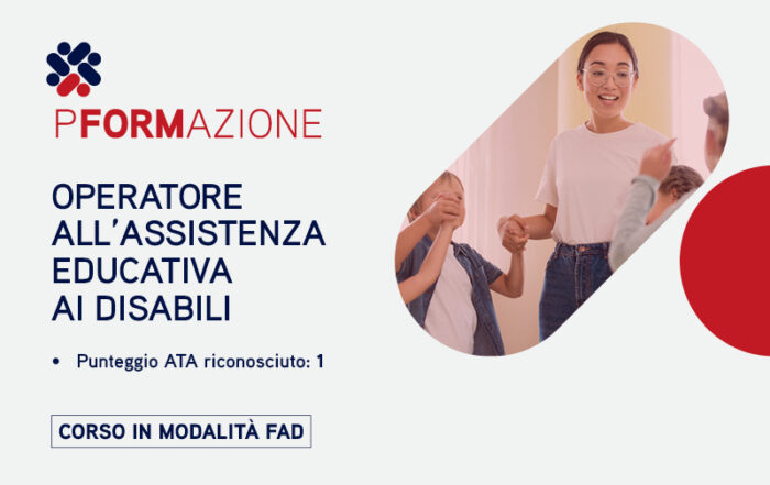 Operatore all'assistenza educativa ai disabili