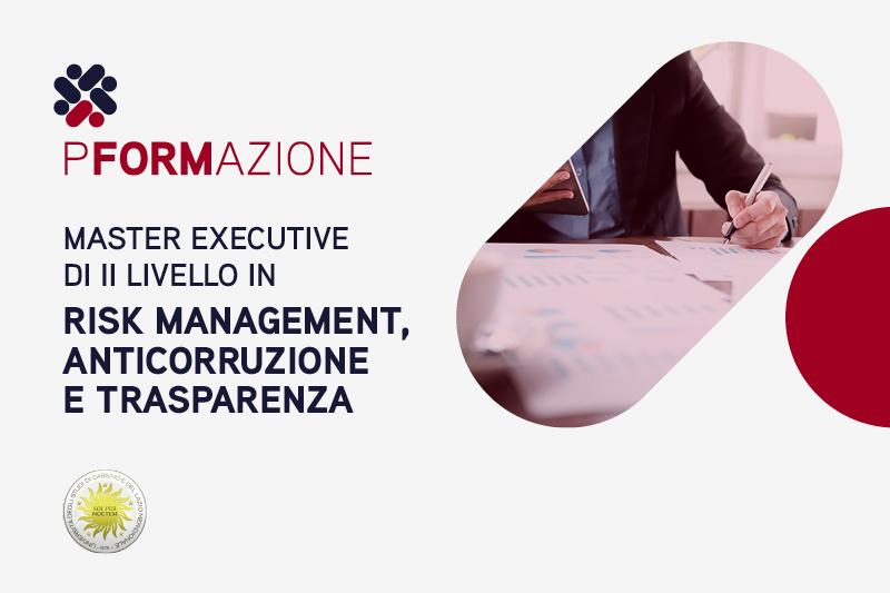 Master executive di II livello in Risk Management, Anticorruzione e Trasparenza