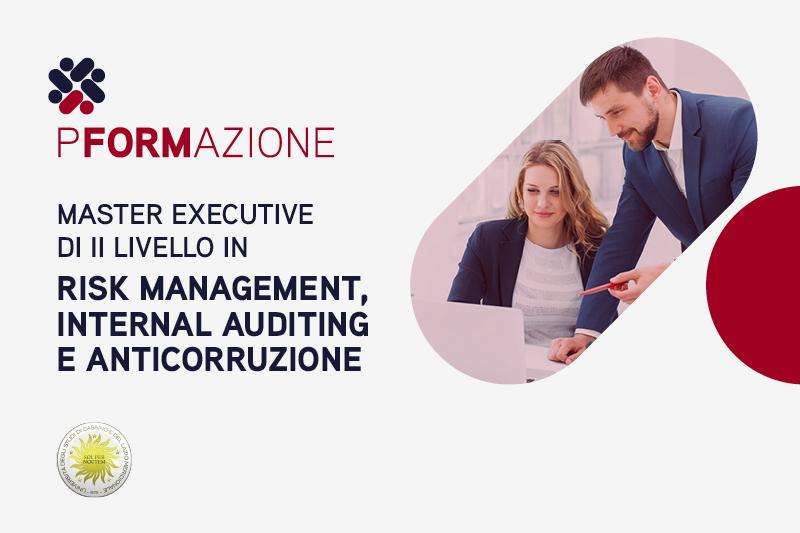 Master Executive di II livello in Risk Management, Internal Auditing e Anticorruzione